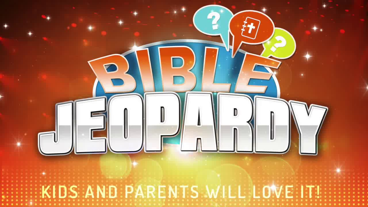 Bible Jeopardy Game [PRINTABLE]