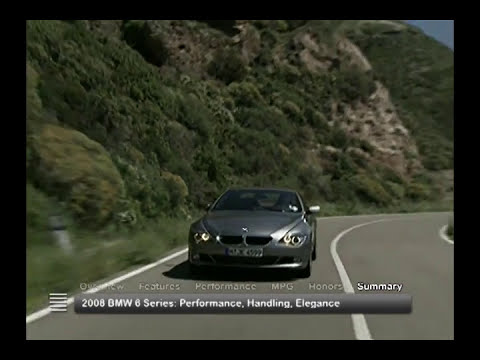 2008 BMW 6 Series Used Car Report