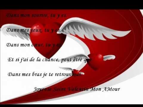 Bonne et joyeuse f te de la saint valentin youtube - Saint valentin image coeur ...