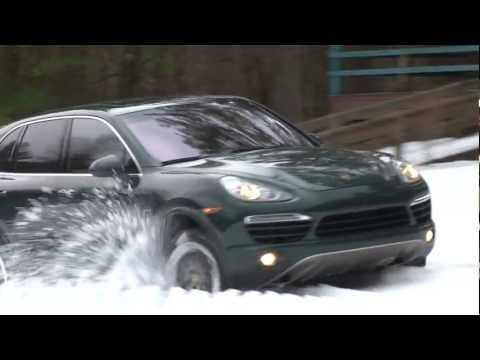 2013 Porsche Cayenne Diesel - Drive Time Review with Steve Hammes