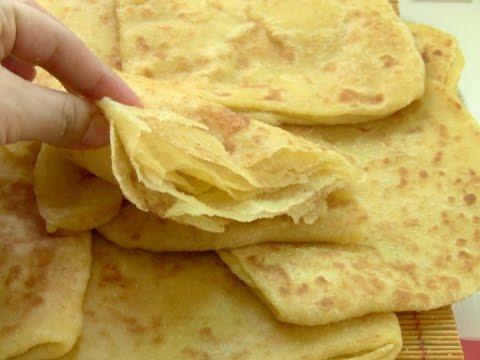 Msemen cr pes feuillet es for Cuisine halima filali