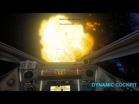 X-WING ALLIANCE - DYNAMIC COCKPIT AND HUD TEST
