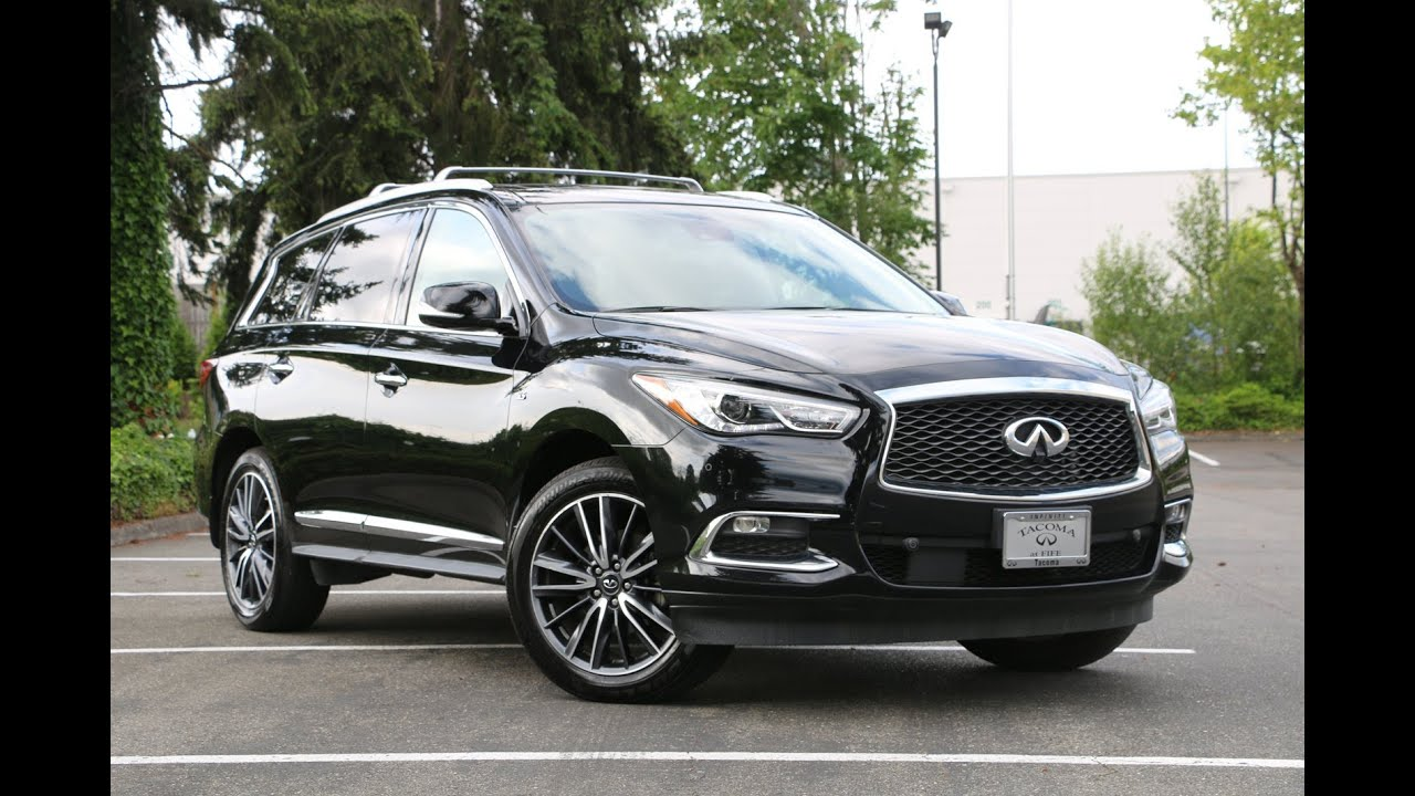 2017 Infiniti Qx60 Deluxe Technology Package Youtube