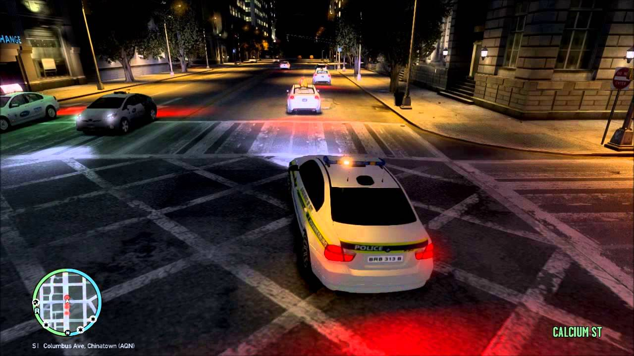 Car Chase Video Game