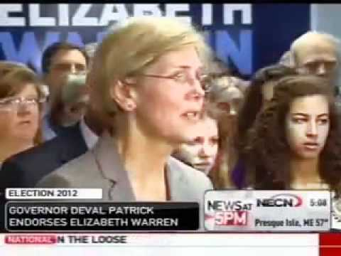 Deval Patrick Scolds Eliz Warren, Tells Her To Answer Questions About Native American Controversy