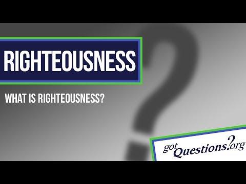 Alien Righteousness
