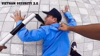 PARKOUR vs VIETNAM SECURITY | Bắt Bảo Vệ