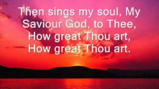 How Great Thou Art [FREE DOWNLOAD] - then sings my soul my Saviour God to thee