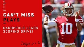 Jimmy Garoppolo & Matt Breida Put Together Early Scoring Drive