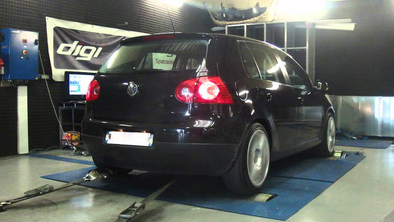 vw golf 5 tsi 140cv 195cv reprogrammation moteur dyno digiservices youtube. Black Bedroom Furniture Sets. Home Design Ideas