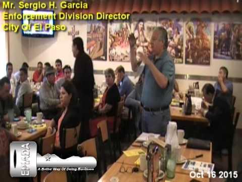 Mr Sergio H  Garcia Enforcement Division Director
