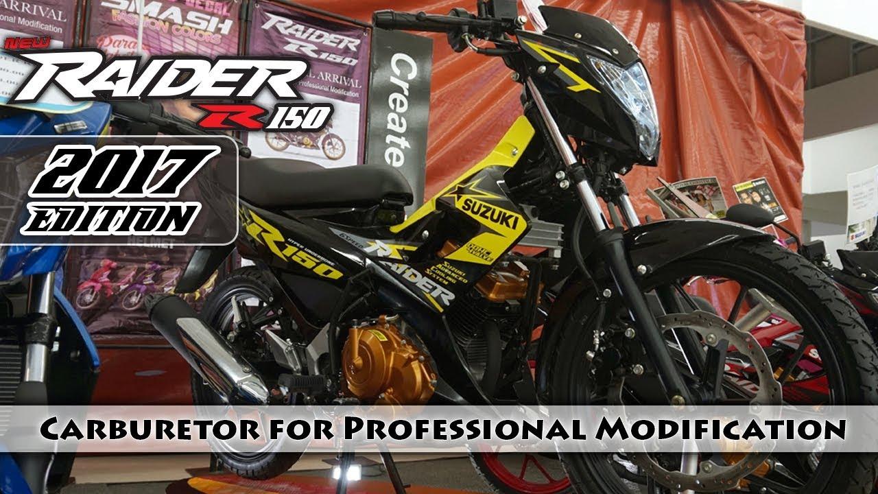 Raider 150 New Model 2017 >> Raider R150 Hyper Underbone 2017   Carburetor   Color Yellow-Black   Suzuki Philippines ...