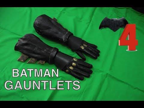 How to make a  Batman  costume part 4 GAUNTLETS