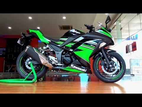 Kawasaki Ninja 300 KRT Edition Walkaround Review #Bikes@Dinos