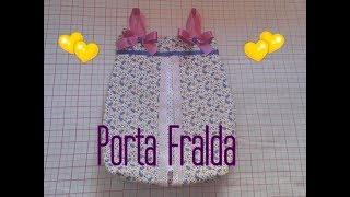 DIY – Porta Fralda ( passo a passo )