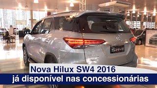 Toyota Hilux SW4 2016 | New | Lançamento | motoreseacao