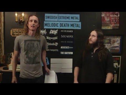 LOCK HORNS | MELODIC DEATH METAL bands debate with Morgan Rider of Vesperia (live stream archive)