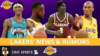 Lakers Rumors: 2020 Playoff Preview, Kira Lewis Mock Draft & Lebron James On Kobe Bryant's Level?