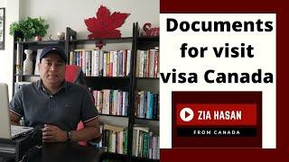 কানাডা ভিজিট ভিসা আবেদনের জন্য প্রয়োজনীয় ডকুমেন্টস। #Canada_visit_visa_application