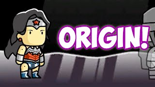 SCRIBBLENAUTS UNMASKED - ORIGIN - WONDER WOMAN!