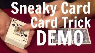 Sneaky Card Card Trick - Card Tricks