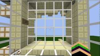 Compact 5 High Portcullis without visible Sand/Fences! v2.0 [Minecraft Showcase]