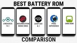 Resurrection Remix Vs Lineage Os Battery Life