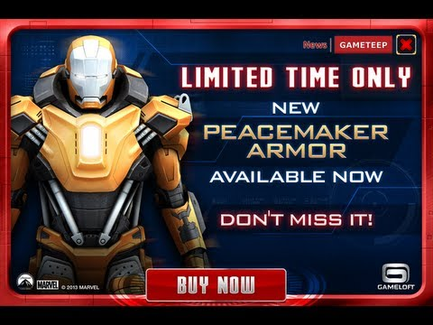 Iron Man 3: Mark 36 - Peacemaker Gameplay Trailer [HD]