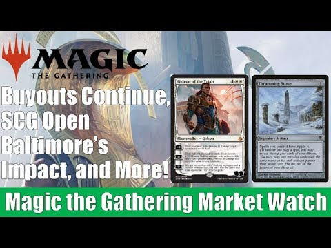 MTG Market Watch: Buyouts Continue, SCG Open Baltimore's Impact, and More