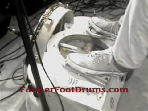DELUXE FOOT DRUM by Farmer Musical Instruments