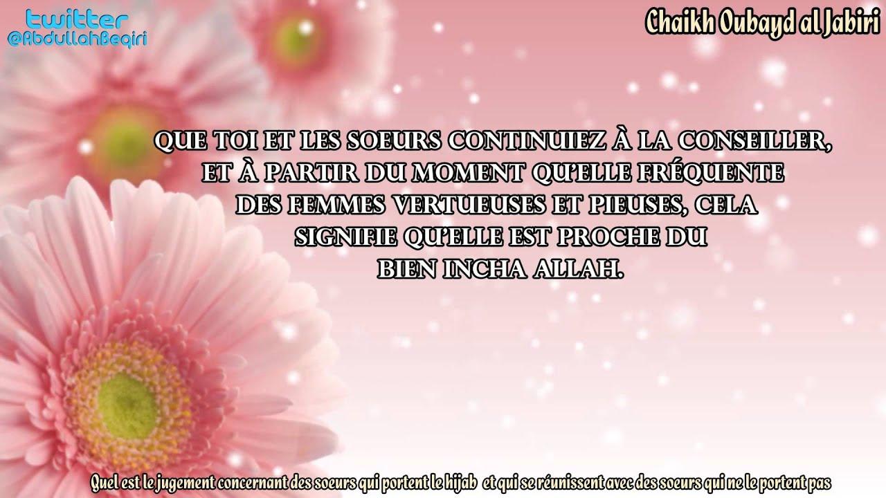 Concernant des soeurs qui portent le hijab et qui se for Qui portent des crochets