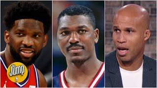 'Hakeem could never' - Richard Jefferson reacts to Joel Embiid's move | The Jump