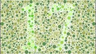 the color blindness test look closely