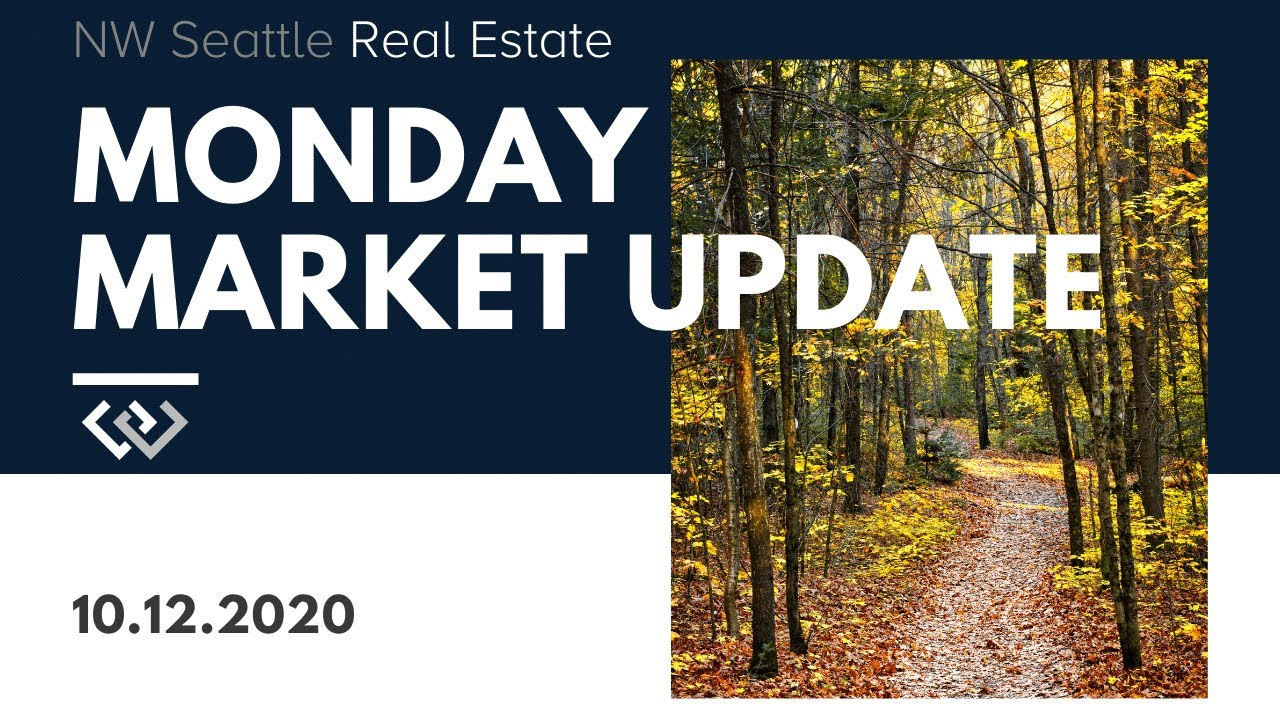 Monday NW Seattle Real Estate Market Update | October 12th, 2020