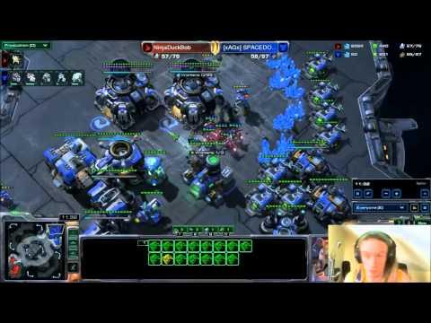 RedRipz - CasualCraft #16 - NinjaDuckBob (p) vs SPACEDOODLE (t)
