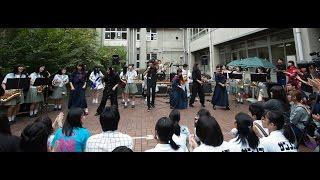 「これぞ文化祭!」ってノリですね♪ 私たちGMCと吹奏楽部、ダンス部、Vo...