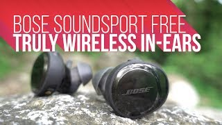 Bose Soundsport Free | Truly Wireless Earphones