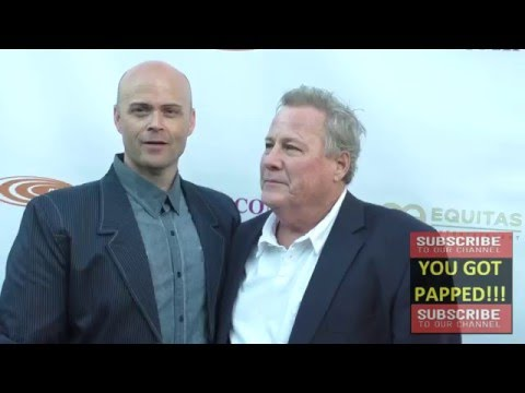 John Heard and Paul Kampf at the Homecoming Premiere at Laemmle's Music Hall in Beverly Hills