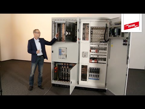 DEHNshort: Active arc fault protection system for low-voltage switchgear installations