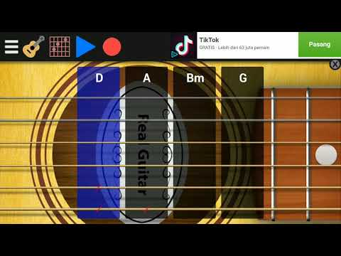 Mencium Bulan Tony Q  Tutorial Aplikasi Gitar Kren