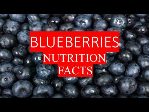 BLUEBERRIES HEALTH BENEFITS AND NUTRITION FACTS