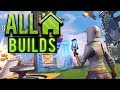 Fortnite Creative Mode Tutorial - ALL Building Options - Build a BASE