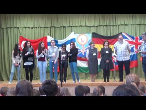 Erasmus + Welcoming ceremony in Makó, Hungary