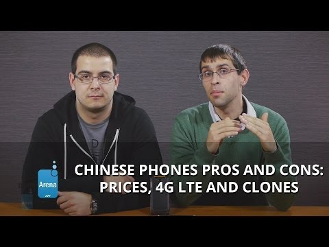 Chinese Android phones pros and cons: prices, 4G LTE and clones