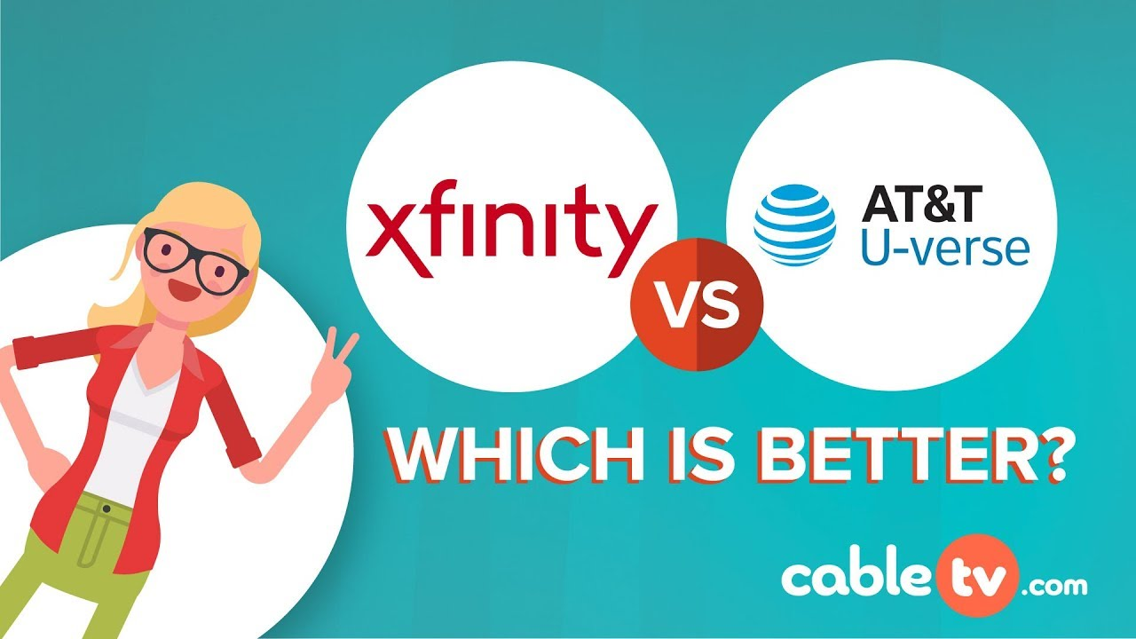 a comparison of comcasts xfinity high speed internet and atts u verse Everyone will enjoy using the comcast xfinity tv that may occur while using at&t u-verse comcast offers customers an comcast high speed internet home.
