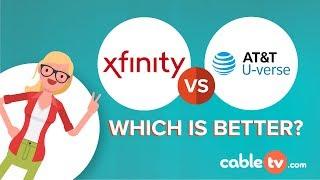 Compare AT&T U-verse vs Xfinity (2018)