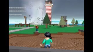 WARNING TO THE TORNADE!!! ROBLOX