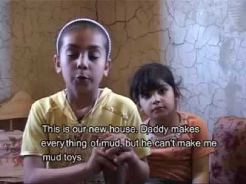 Gaza Reality - Mud houses