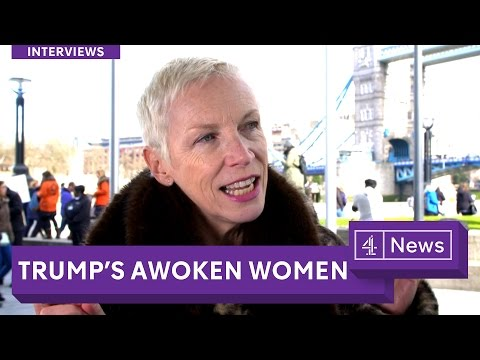 Annie Lennox Interview 2017: Encouraging men to be feminists - and Trump's effect on the movement