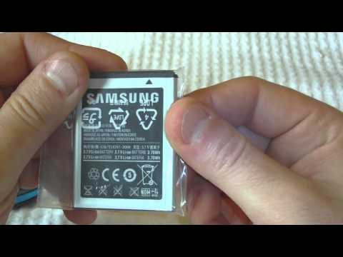 Samsung Gravity 3 Unboxing